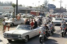 1962 John Glenn parade through Cocoa Beach.
