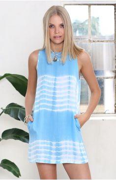 Deviate Dress Cloudland Tie Dye