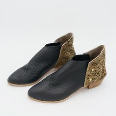 f8995a6254 The Danthu. Large Pebble Grain and Mini Spot Hair On. 3cm · Narrow  ShoesLeather SocksVegetable Tanned ...