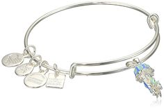Alex and Ani Charity By Design Jelly Fish Expandable Sterling Silver Bangle Bracelet -- Want additional info? Click on the image. (This is an affiliate link and I receive a commission for the sales)
