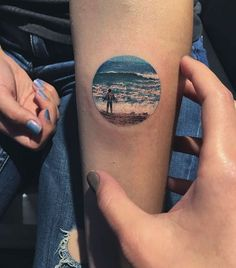 Marvelous Circular Tattoos by Eva KrbdkEva Krbdk etches beautiful circular tattoos, engraving a snippet of her creation on people's arms, a bit of her, living forever. Krbdk's miniature creations cover everything from scenic watercolor paintings to...