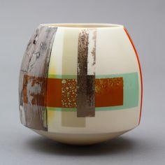 Contemporary Ceramics Centre - Current Exhibition - Paul May) Ceramic Clay, Porcelain Ceramics, Ceramic Pottery, Pottery Art, Pottery Wheel, Modern Ceramics, Contemporary Ceramics, Earthenware, Stoneware
