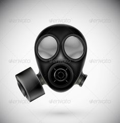 Isolated Gas Mask  #GraphicRiver         Isolated gas mask. Illustration contains transparency and blending effects, eps 10     Created: 13May13 GraphicsFilesIncluded: JPGImage #VectorEPS Layered: Yes MinimumAdobeCSVersion: CS Tags: afraid #apparatus #army #black #breathe #chemical #concept #danger #disaster #equipment #fear #filter #gas #isolated #mask #military #object #poison #protection #protective #radiation #respirator #safety #scary #spooky #terror #terrorism #toxic #toxin #war
