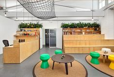 Workplace Element: Tiered Seating Areas - Office Snapshots