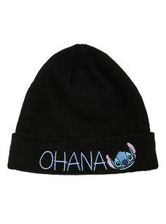 Disney Lilo & Stitch Ohana Watchman Beanie   Hot Topic