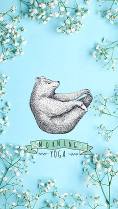 Morning Yoga // wallpaper, backgrounds