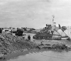 Gold Beach, 7 June 1944, Sherman