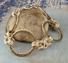 Economical Hammered Silver and Antique Gold by UnkamenSupplies, $32.00