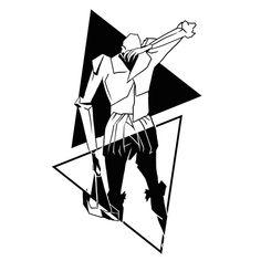 Create a minimalist Fahrenheit 451 tattoo! by Klasikohero