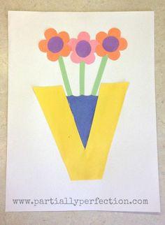 42 Best Letter V Crafts images | Alphabet crafts, Letter v crafts