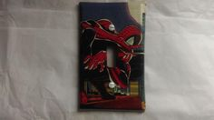 Amazing Spider-Man Light Switch Cover, Comic Books, Marvel Comics, Handmade by ComicBookCreations01 on Etsy