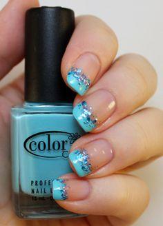 Goodly Nails: Turkoosi ranskis