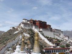 Potala Palace - Tibet, Lhasa city