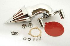 Aftermarket Motorcycle Parts Spike Air Cleaner Intake Kits For Harley Davidson 1991-2006  XL models sportstar Chrome