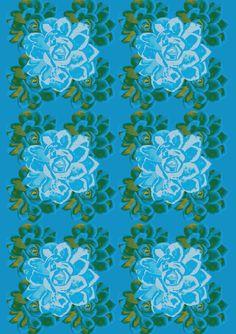 Rosas Turquesas