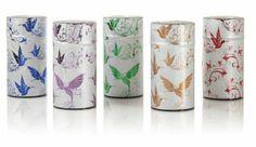Bird Tea Tins, holds 5 oz, $12.95 in Teavana stores and at teavana.com.