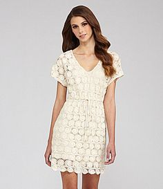 Willow and Clay Lace XBack Dress #Dillards