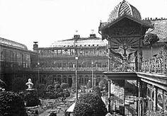Krystallpalast Leipzig um 1900.