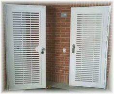 rejas protectoras para puertas en hierro