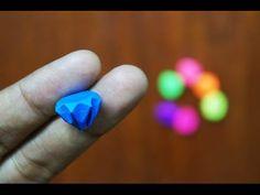 Mini Origami - How to make Mini Diamond Origami 8.0 (Reuploaded)