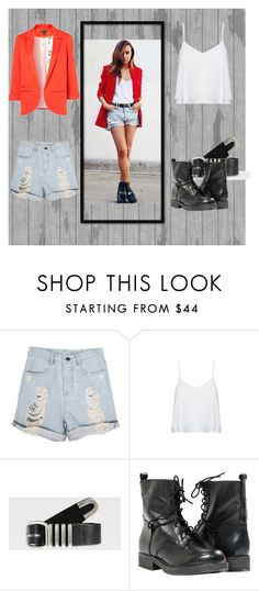 """""""#8"""" by vill-ain ❤ liked on Polyvore featuring Alice + Olivia, G-Star Raw and Paolo Shoes"""