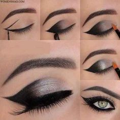 Eye makeup tutorial - http://womensmax.com/eye-makeup-tutorial-3