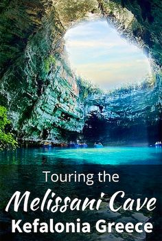 """On the eastern side of the island of Kefalonia in Greece there is a sunken lake call Melissani Cave. Also, known as the """"Cave of the Nymphs""""."""
