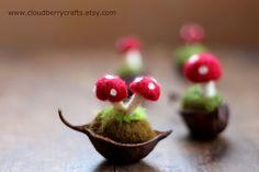 waldorf crafts ideas acorn poppy pod - Google Search