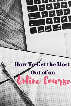 An online course can