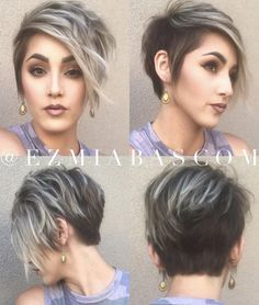 women's short haircuts: 31 pictures of short haircuts trend New - Hair Inspiration - Pixie Hairstyles, Cool Hairstyles, Medium Hair Styles, Curly Hair Styles, Pictures Of Short Haircuts, Trending Haircuts, Short Hair Cuts For Women, Hair Today, Hair Dos