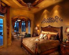 Burgundy Bedroom Designs Decorated In Gold And Burgundy Master