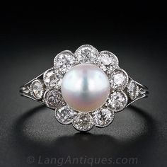 Estate Pearl Ring