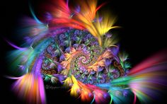 Spirals and Feathers by wolfepaw on deviantART