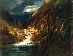 Hetch Hetchy Side Canyon, II, by William Keith, c1908