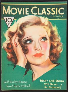 Loretta Young by Marland Stone