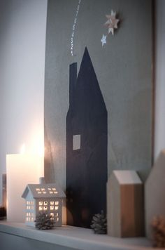beautifully-made: christmas city in `m sternenhimmel