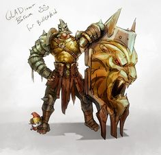 Here's GLADiator Braum for Bulletkid!