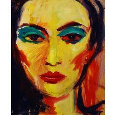 Malarstwo olejne na płótnie. Obraz o wymiarach  40x50 cm. Praca sygnowana, z metryką i notką biograficzną o artyście.