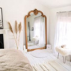 Home Interior Design xx.Home Interior Design xx Vintage Inspiriert, Minimalist Bedroom, Modern Bedroom, Contemporary Bedroom, Parisian Bedroom Decor, Vintage Inspired Bedroom, Contemporary Nightstands, Parisian Room, Natural Bedroom