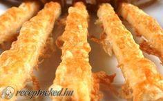Vendégváró sajtos ropogós recept fotóval