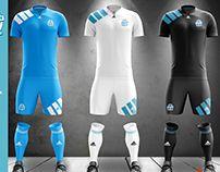 Olympique de Marseille - Football Kit concept 1993