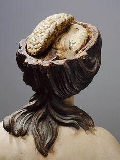 "From the ""Anatomie des Vanités"" exhibit at the Erasmus House in Brussels, Belgium."