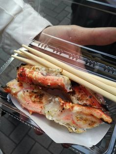 Grill Snow crab in osaka Japan