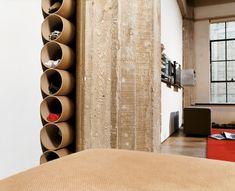 hidden shoe storage   hidden shoe storage - Hmmm - cardboard carpet tubes definately cheaper ...