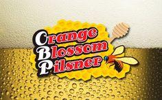Cerveja Orange Blossom Pilsner, estilo Spice/Herb/Vegetable Beer, produzida por Thomas Creek Brewery, Estados Unidos. 5.5% ABV de álcool.
