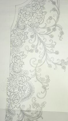 1 million+ Stunning Free Images to Use Anywhere Embroidery Neck Designs, Bead Embroidery Patterns, Tambour Embroidery, Embroidery Applique, Embroidery Stitches, Machine Embroidery, Sewing Patterns, Fabric Painting, Needlework