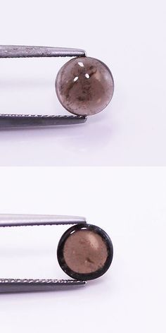 Smoky Quartz 69148: Top 1.81Cts Natural Smoky Quartz Brown Cabochon Round Loose Gemstone BUY IT NOW ONLY: $30.0