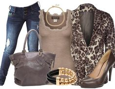 Wild animal - Avond Outfit - stylefruits.nl