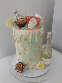 Martini Cake, Vanilla Cake, Cake Decorating, Cakes, Birthday, Birthdays, Cake Makers, Kuchen, Cake