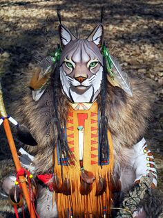 Lynx Manitou Spirit or Totem by FreedomGallery on Etsy, $945.00